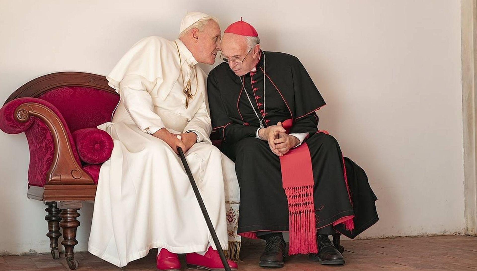 Lees ook: Als zoekende gelovige kun je je laven aan The Two Popes