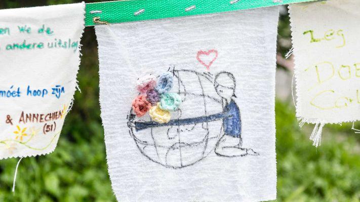 Rozemarijn voert actie voor het klimaat: 'Als christen kan ik niet anders'