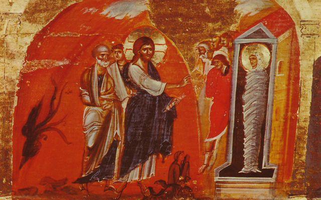Vandaag is Lazarus-zaterdag. Kom, we grijpen de opstanding bij de strot.