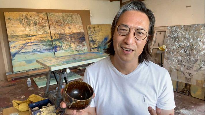 God ervaren door je handen, vingertoppen en ogen: kunstschilder Makoto Fujimura gunt het iedereen