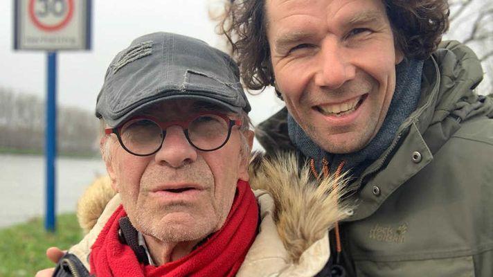 Hoe Rob de weg vindt naar het hart van Bert, een 70'er met dementie